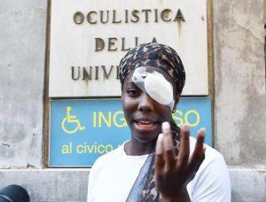 Marco Travaglio, Ottavia Giustetti, Ammiano Marcellino: razzismo italiano e deformazione politica. Nella foto: Daisy Osakue, al centro di una polemica che c'entra poco