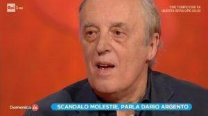 """Dario Argento commenta la storia di Asia e Jimmy Bennett: """"Che brutta cosa"""""""
