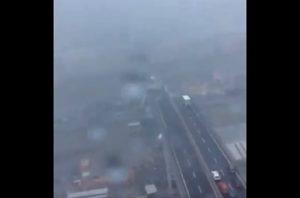 Genova tragedia crollo elicottero