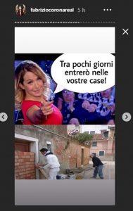 Fabrizio Corona e la frecciatina a Barbara D'Urso su Instagram