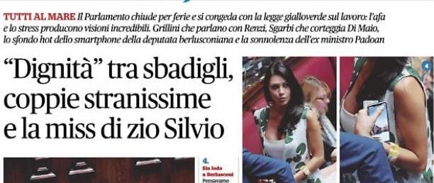 Annaelsa Tartaglione  deputata di Forza Italia