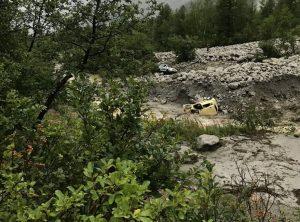Vincenzo Mattioli morto in frana in Val Ferret: travolto nella sua auto