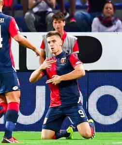 Genoa-Empoli 2-1 pagelle, Piatek e Kouamé gol e show