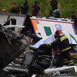 A10 Genova, crolla ponte Morandi in autostrada25