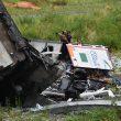 A10 Genova, crolla ponte Morandi in autostrada15