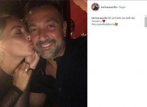 Karina Cascella, le lacrime per la proposta di matrimonio