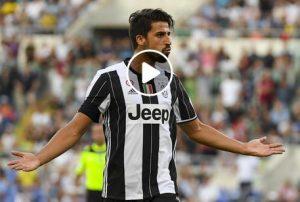 "Khedira video gol Chievo-Juventus nel ""Cristiano Ronaldo day"""