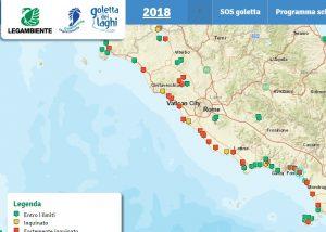 Lazio, ecco le spiagge più inquinate. La mappa di Legambiente