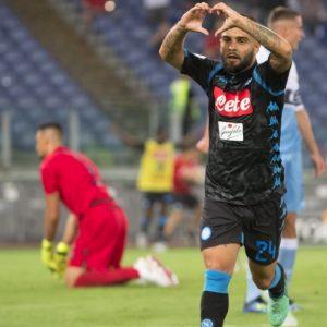 Lazio-Napoli 1-2 highlights e pagelle, Insigne decisivo con un gol da cineteca