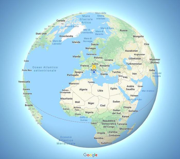 Cartina Mondo Google Maps.Google Maps Terra E In 3d Addio Planisfero Piatto