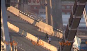 Ponte Morandi troncone est