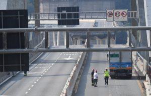 Genova, ponte Morandi crollato