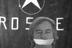 Il fotomontaggio choc contro Roberto Burioni