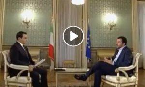 Matteo Salvini: intervista ad Al Jazeera su migranti, Africa, Libia, Regeni... VIDEO