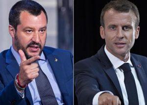 "Salvini a Macron, il nemico: ""40mila respingimenti dalla Francia. Taci, ipocrita"""