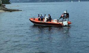 Lago di Como, sub muore durante una immersione. Grave un altro sommozzatore (foto d'archivio Ansa)