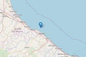 Terremoto Marche, scossa al largo: tremano Pesaro e Cattolica
