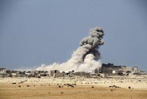 Yemen, attacco contro scuolabus: almeno 39 bambini morti (foto Ansa)