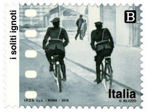 I Soliti Ignoti francobollo Poste
