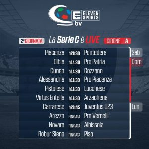 Carrarese-Juventus U23 Sportube