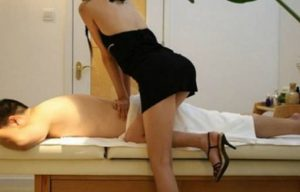 massaggiatrice molesta