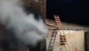 Perugia incendio agriturismo