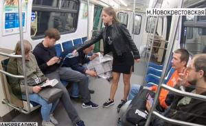 Candeggina sulle parti intime: Anna punisce così gli uomini in metro