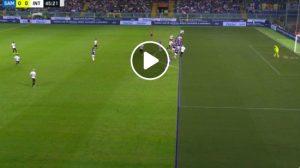 Asamoah e Nainggolan video gol annullati dal var in Sampdoria-Inter 0-1