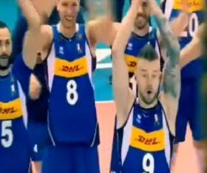 """Mondiali pallavolo, Italia batte anche Slovenia: """"zar""""Ivan Zaytsevguida il""""geyser sound"""""""