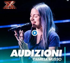 Camilla Musso incanta e fa commuovere i giudici di X Factor