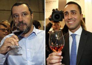 Di Maio: no, il condono no. Salvini: no al reddito-divano. Baruffe d'amore...sui soldi