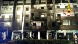 Esplosione in centro di accoglienza migranti a San Martino Buon Albergo