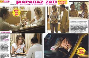 Federica Peluffo e Piero Mazzocchetti, è amore: le foto della cena intima