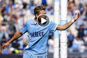 Lazio-Genoa 4-1 highlights e pagelle, Immobile doppietta. Piatek non basta