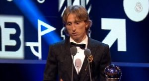 Luka Modric Fifa Awards