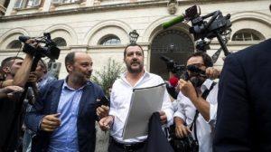 """Manovra, la Lega dopo il vertice: """"Pensioni, intesa su quota 100. Taglio Ires da 1 miliardo"""" (foto Ansa)"""