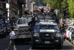 Città del Messico, travestiti da mariachi aprono il fuoco sulla folla: 3 morti (foto d'archivio Ansa)