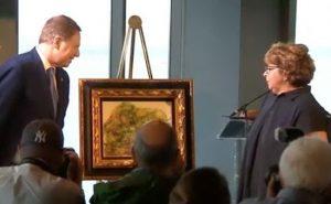 Renoir, il dipinto trafugato dai nazisti torna nelle mani della sua legittima proprietaria
