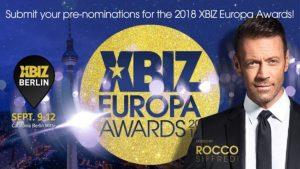 Xbiz Awards Berlino: Rocco Siffredi conduce la prima edizione europea dei premi del cinema per adulti
