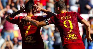 Roma-Lazio 3-1 highlights e pagelle: Pellegrini gol e assist, in rete anche Kolarov e Fazio