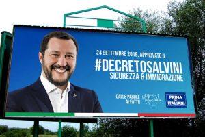 "Migranti/sicurezza. Governo vara stretta Salvini: ""Basta permessi umanitari"""