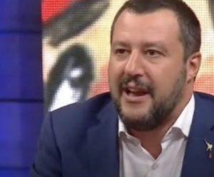 """Matteo Salvini: """"Di Maio ed io ormai siamo una coppia di fatto"""""""
