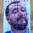 Il volto di Salvini nel mirino