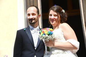 Ponte Morandi, Andrea Fortunato e Daniela Timoneri sposi