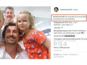 """Toninelli, gaffe su Instagram: """"Tolgo la concessione al mio barbiere""""1"""