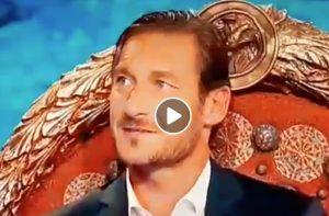 """Totti sul figlio Cristian: """"Non è figlio mio. Io avrei segnato"""" VIDEO"""