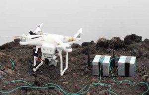 Uova di drago lasciate da droni: così gli scienziati monitorano i vulcani