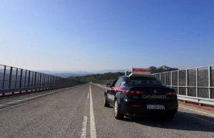 """Isernia, martedì chiude il viadotto """"Sente"""" (il più alto d'Italia) per rischio crollo (foto Ansa)"""