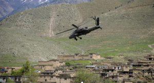 Afghanistan elicottero