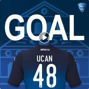 Frosinone-Empoli 3-3 highlights-pagelle, Ucan video gol eccezionale